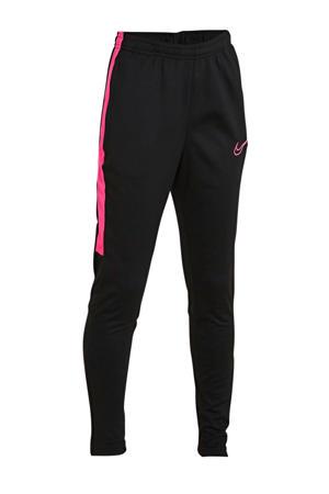 Junior  voetbalbroek zwart/roze