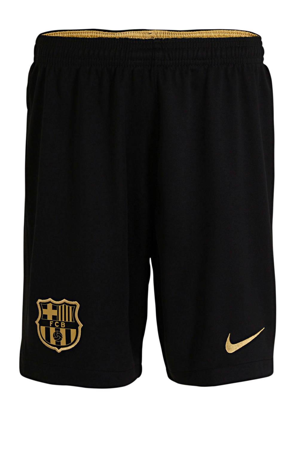 Nike Junior FC Barcelona uit short zwart, Zwart