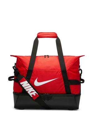 sporttas Academy Team L hardcase rood/zwart