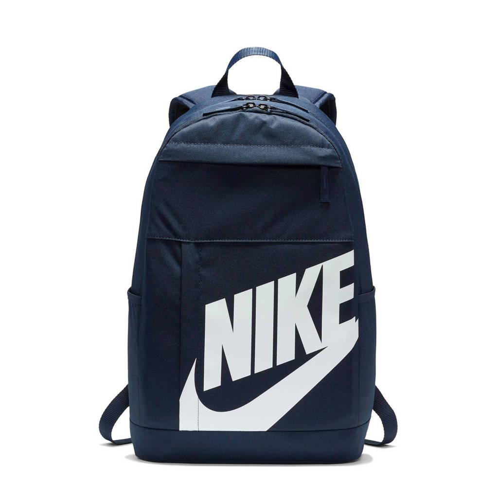 Nike   rugzak Elemental 2.0 donkerblauw/wit, Donkerblauw/wit