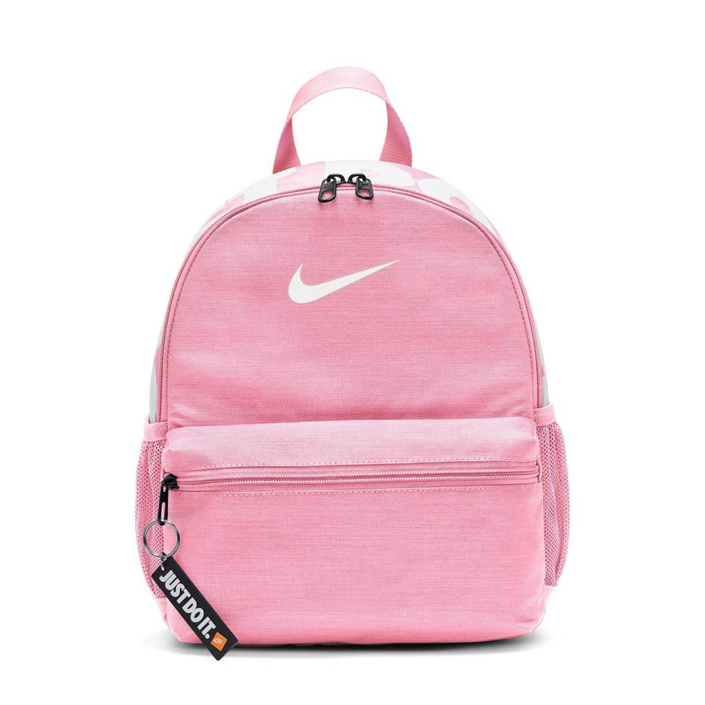 Nike rugzak Brasilia JDI roze/wit, Roze/wit