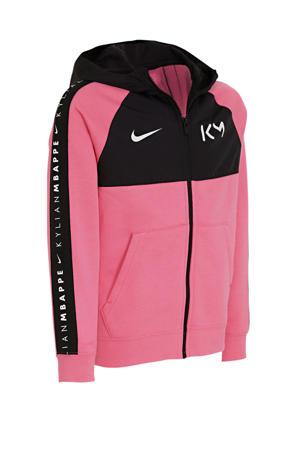vest Kylian Mbappé roze/zwart