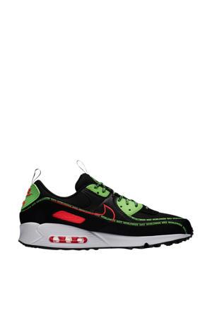 Air Max 90 World Wide sneakers zwart/rood/groen
