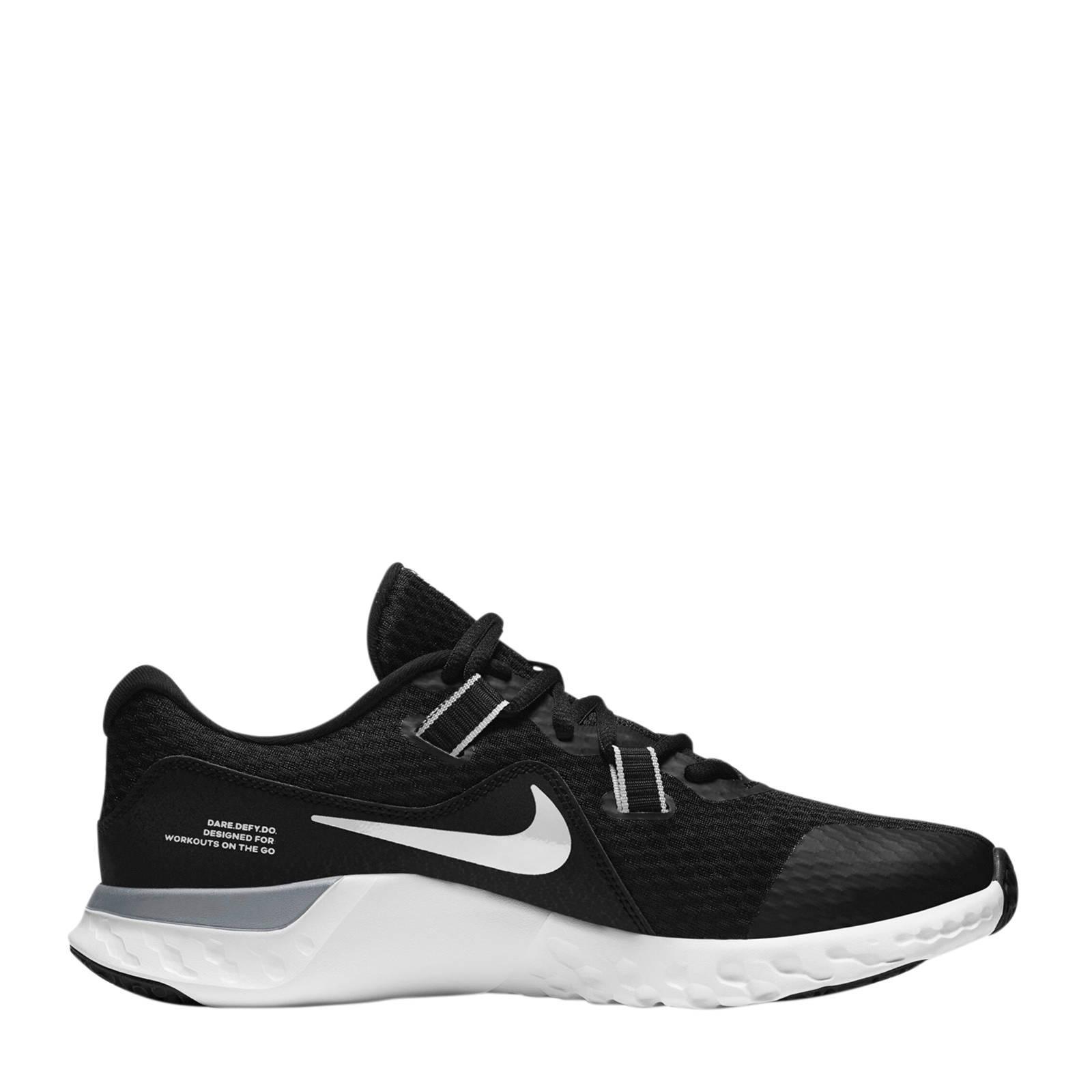 Nike Renew Retaliation TR2 fitness schoenen zwart/wit/grijs online kopen