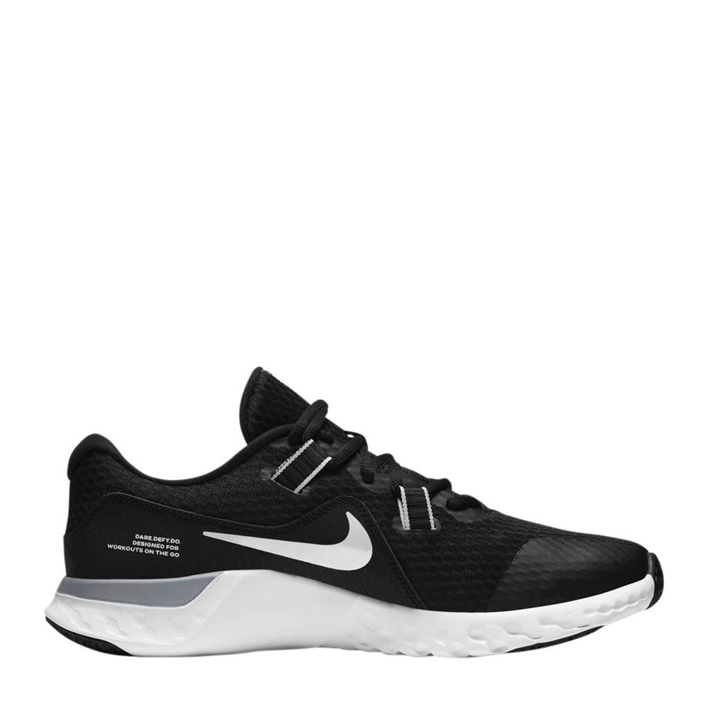Nike Renew Retaliation TR2 fitness schoenen zwart/wit/grijs, Zwart/wit/grijs