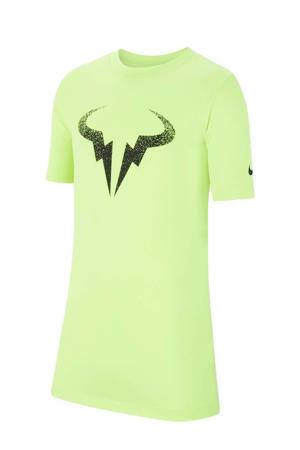 Rafael Nadal tennisshirt limegroen