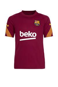 Nike Junior FC Barcelona trainingsshirt rood, Rood