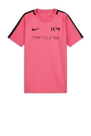 Junior  Voetbalshirt roze/zwart