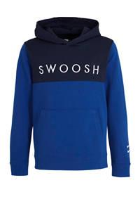 Nike hoodie blauw/donkerblauw, Blauw/donkerblauw