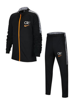 Junior  trainingspak CR7 zwart
