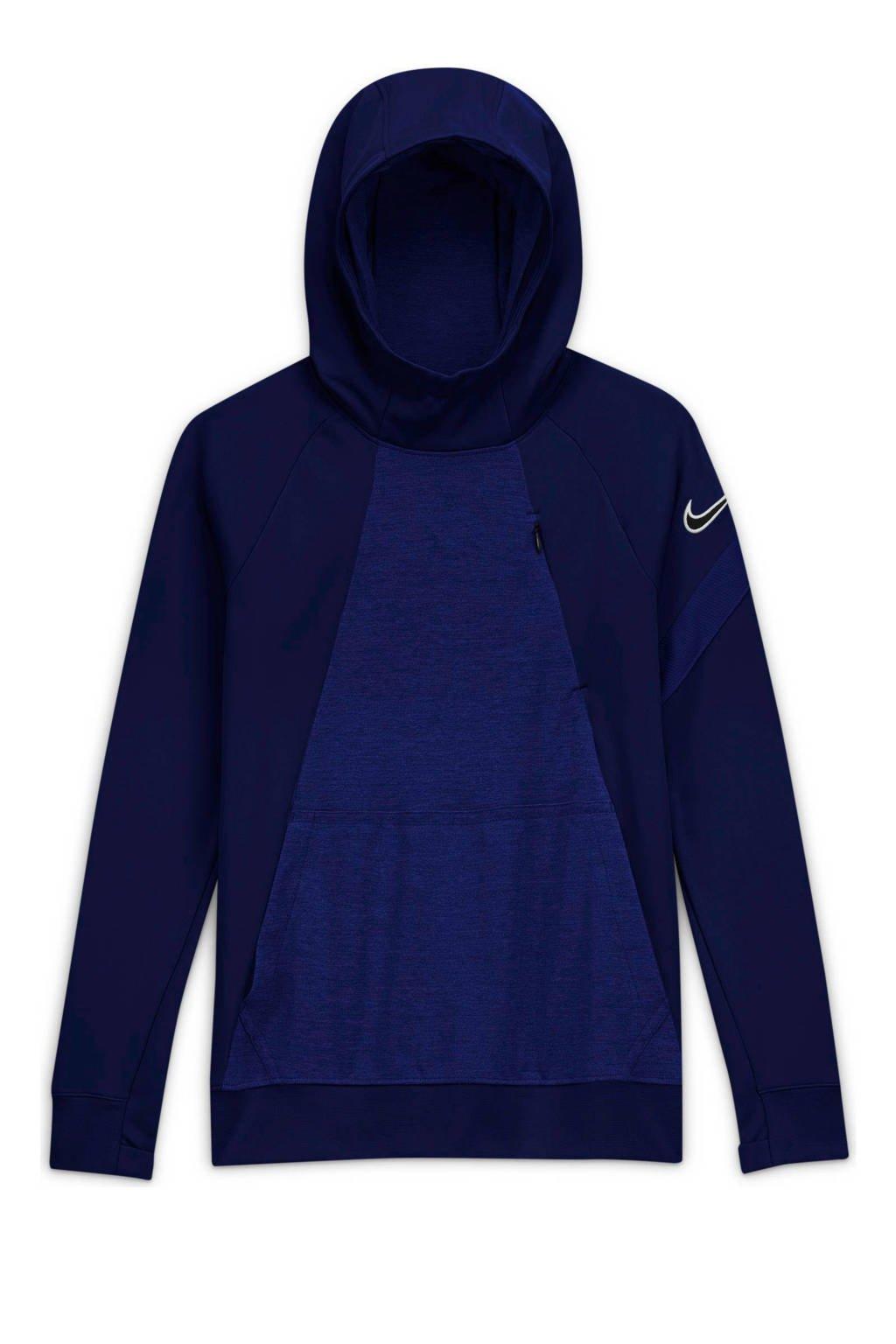 Nike Junior  Academy hoodie donkerblauw, Donkerblauw
