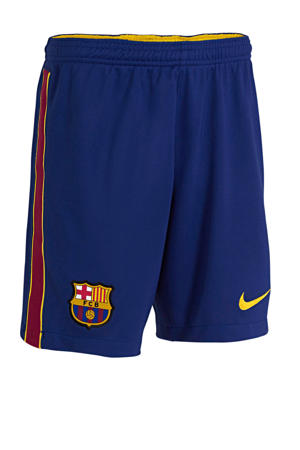 Junior FC Barcelona thuis short donkerblauw