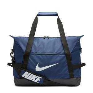sporttas Academy Team M donkerblauw/zwart