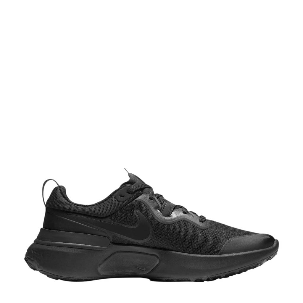 Nike React Miler  hardloopschoenen zwart, Zwart