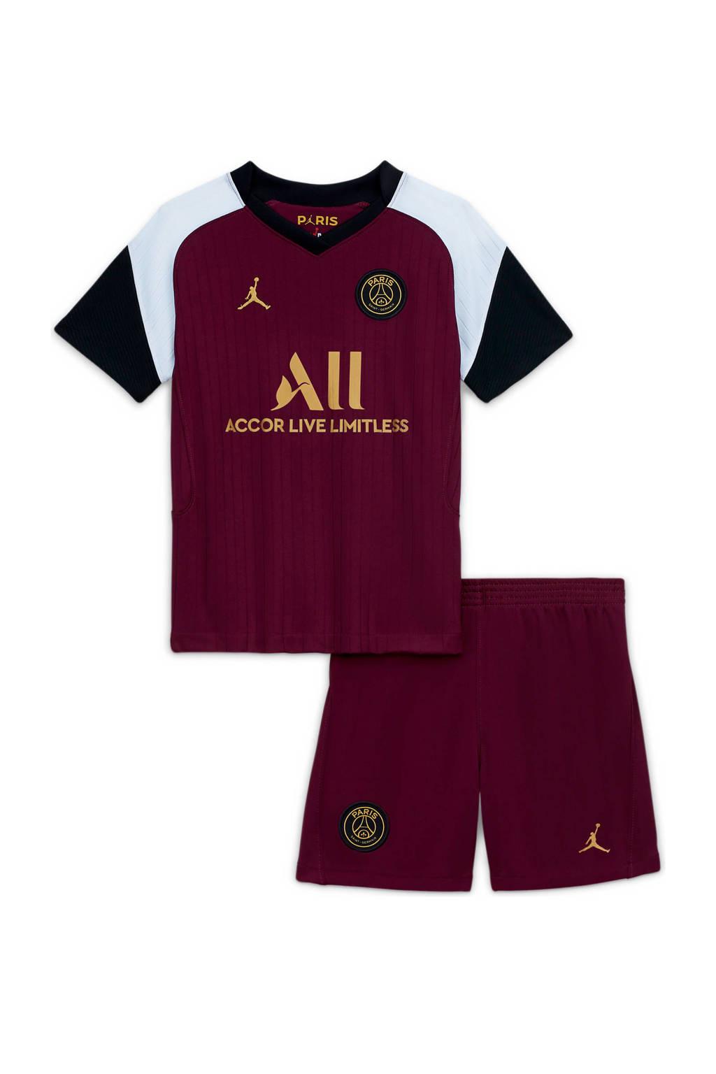 Nike Junior Paris Saint Germain voetbalset bordeaux, Bordeaux