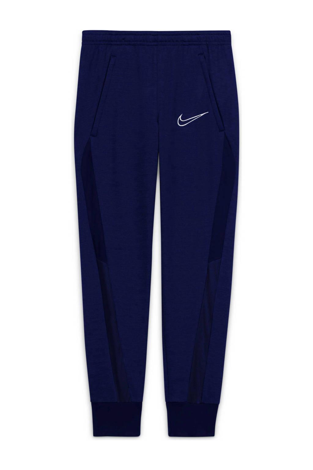 Nike Junior  Academy voetbalbroek blauw, Blauw