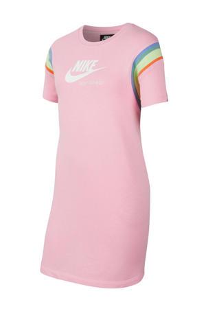 T-shirtjurk roze
