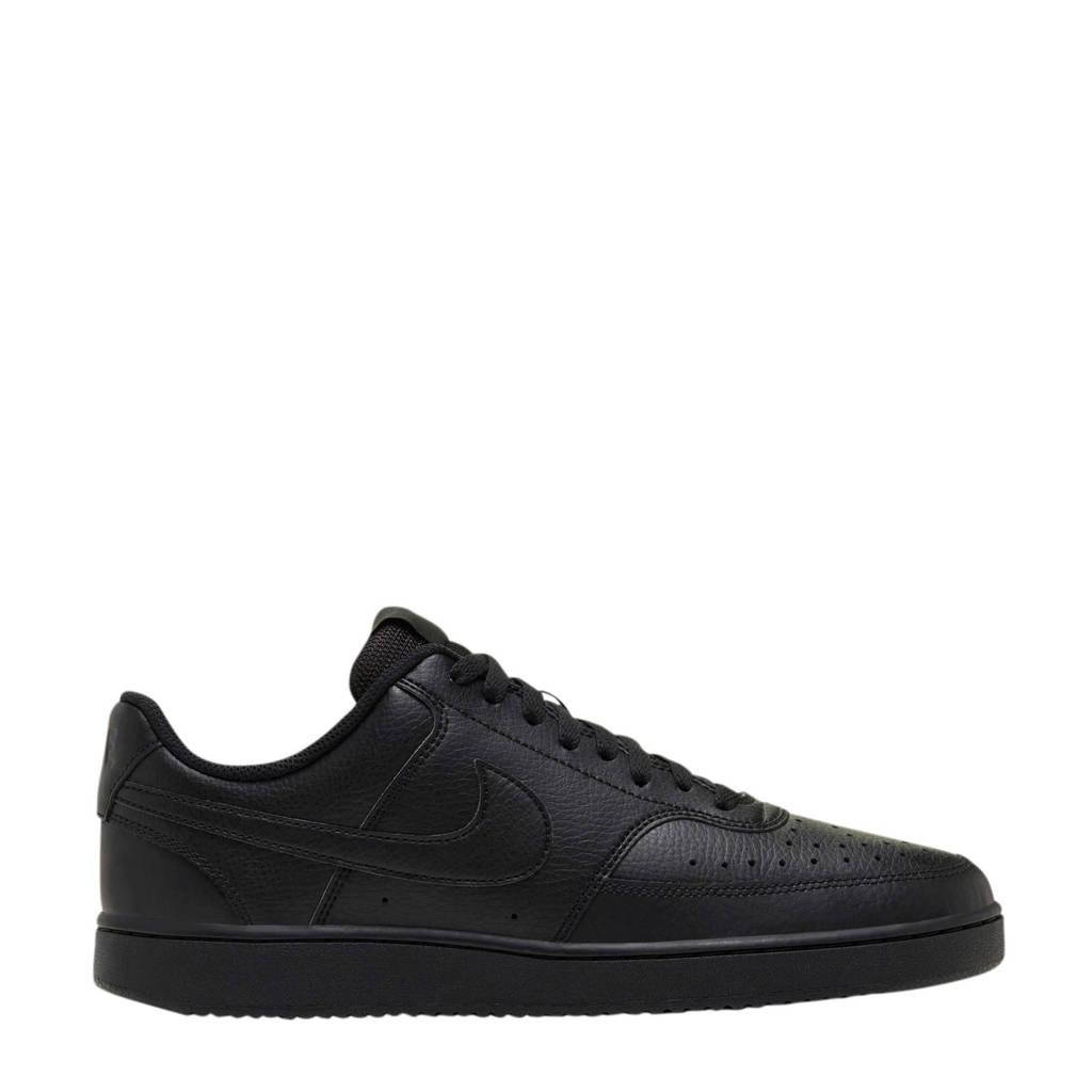 Nike Court Vision sneakers zwart, Zwart