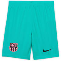 Nike Junior FC Barcelona short groen, Groen