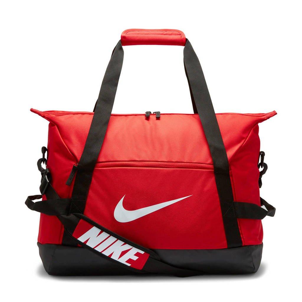 Nike   sporttas Academy Team M rood/zwart, Rood/zwart