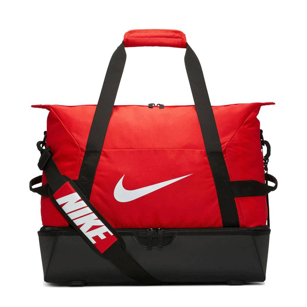 Nike   sporttas Academy Team M hardcase rood/zwart, Rood/zwart