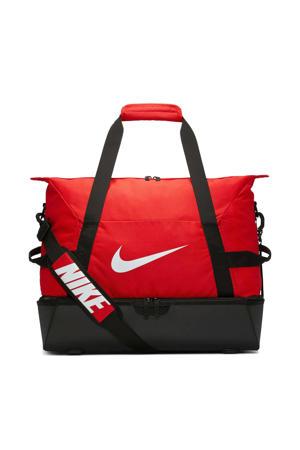 sporttas Academy Team M hardcase rood/zwart