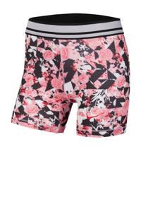 Nike short roze/wit/zwart, Roze/wit/zwart