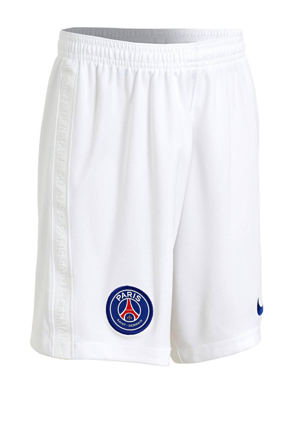Nike Junior Paris Saint Germain voetbalshort, Wit