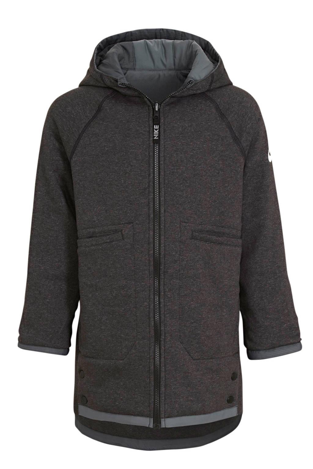 Nike reversible jack zwart/grijs, Zwart/grijs