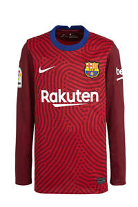 Nike Junior FC Barcelona keepers shirt rood, Rood