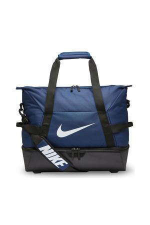 sporttas Academy Team M hardcase donkerblauw/zwart