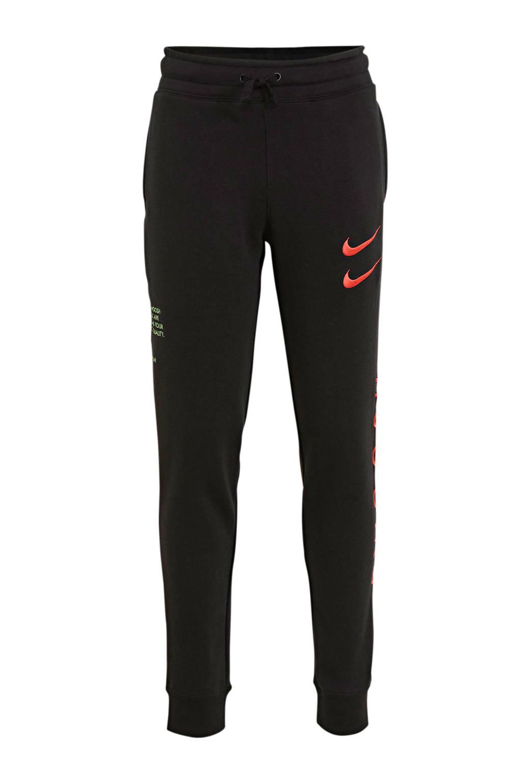 Nike joggingbroek zwart/roze, Zwart/roze