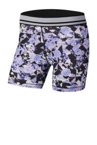 Nike Short zwart/violet, Zwart/violet
