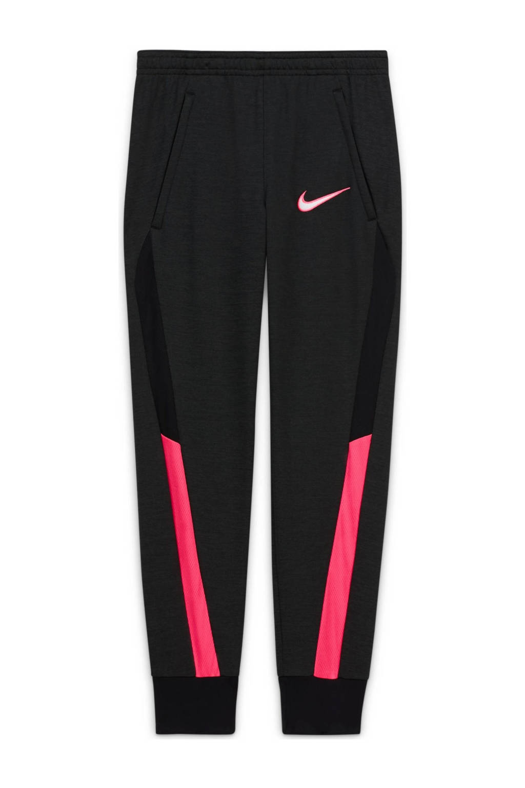 Nike Junior  Academy voetbalbroek zwart/roze, Zwart/roze