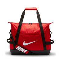 Nike   sporttas Academy Team L Duff rood/zwart, Rood/zwart