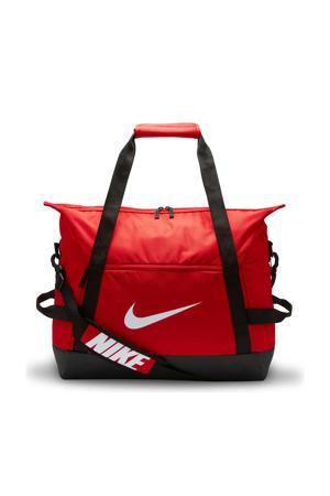 sporttas Academy Team L Duff rood/zwart