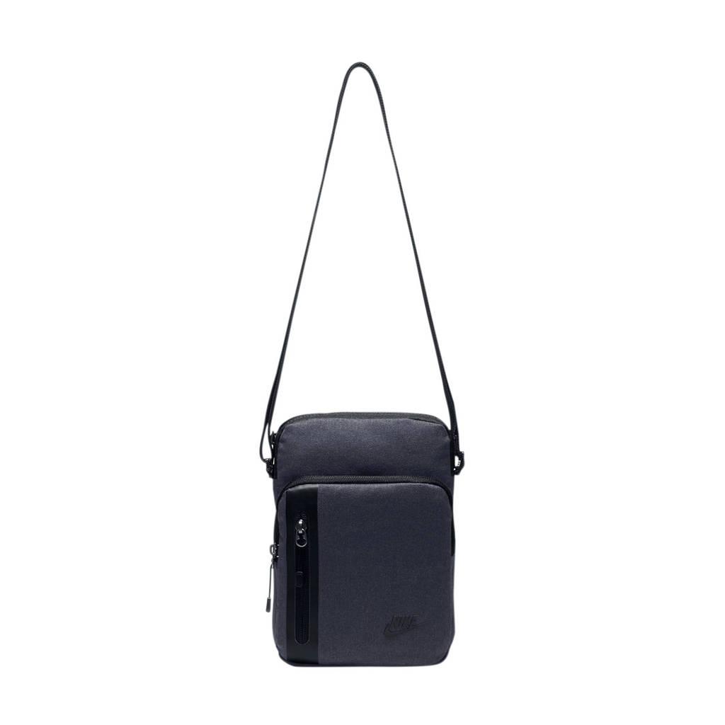 Nike   crossbody tas donkerblauw, Donkerblauw/zwart