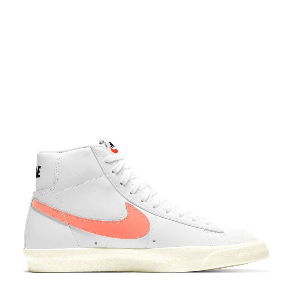 Nike Blazer Mid '77 sneakers wit/roze, Wit/roze