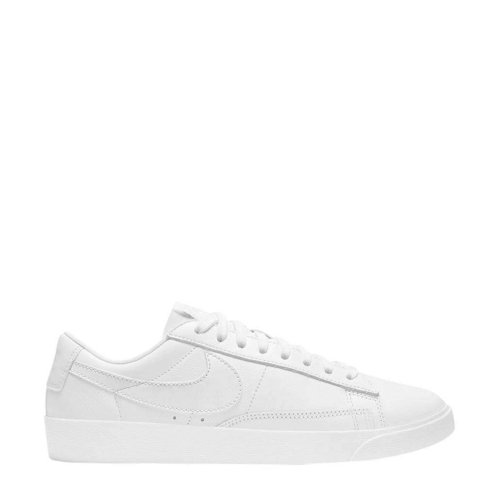 Nike Blazer Low leren sneakers wit, Wit