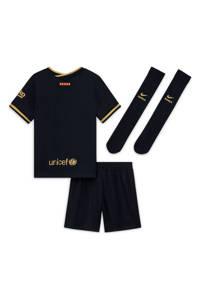 Nike Junior FC Barcelona uit set zwart/goud, Zwart/goud