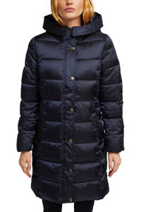 ESPRIT Women Collection gewatteerde jas blauw, Blauw