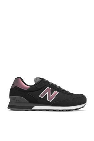 515  sneakers zwart/metallic roze