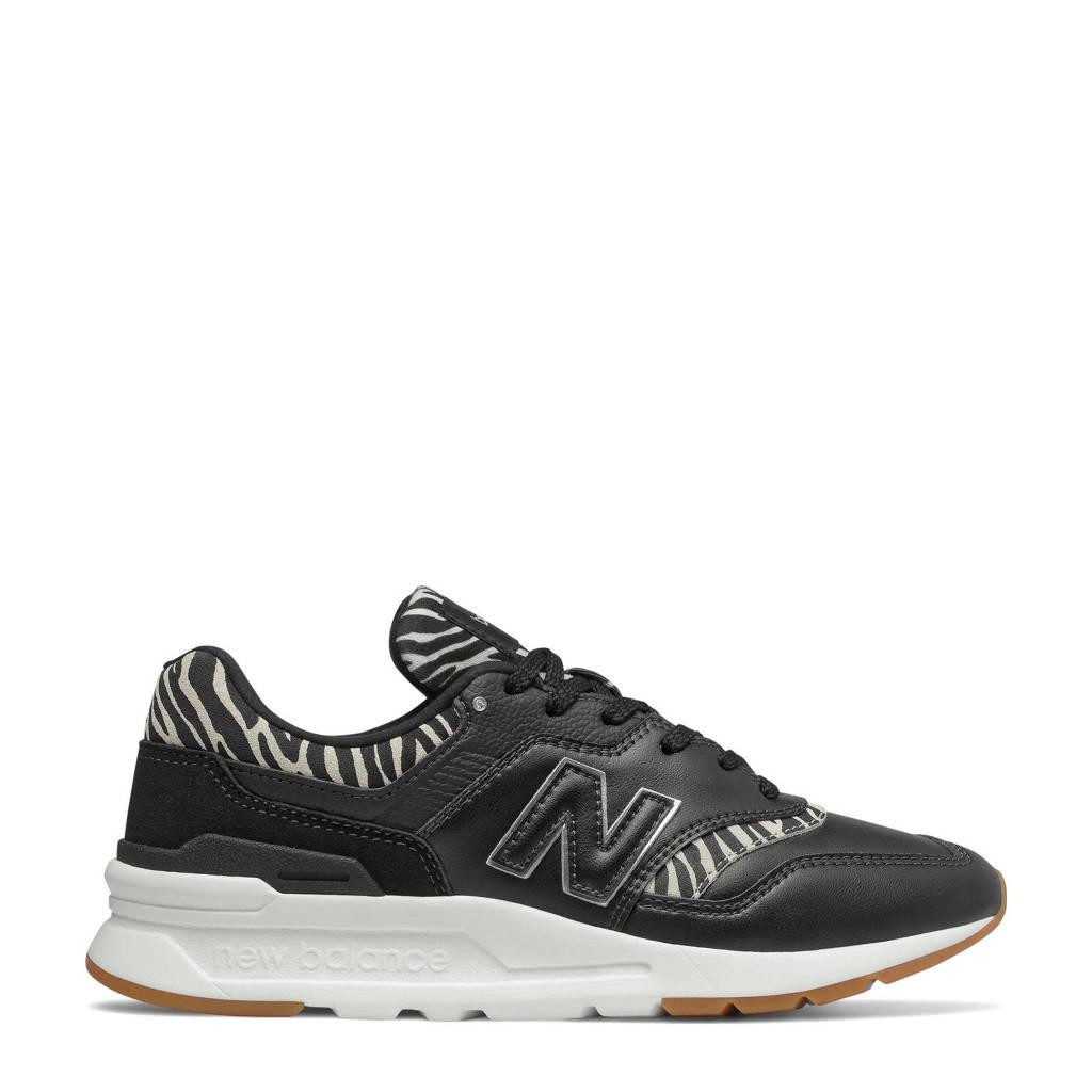 New Balance 997  sneakers zwart/wit, Zwart/wit