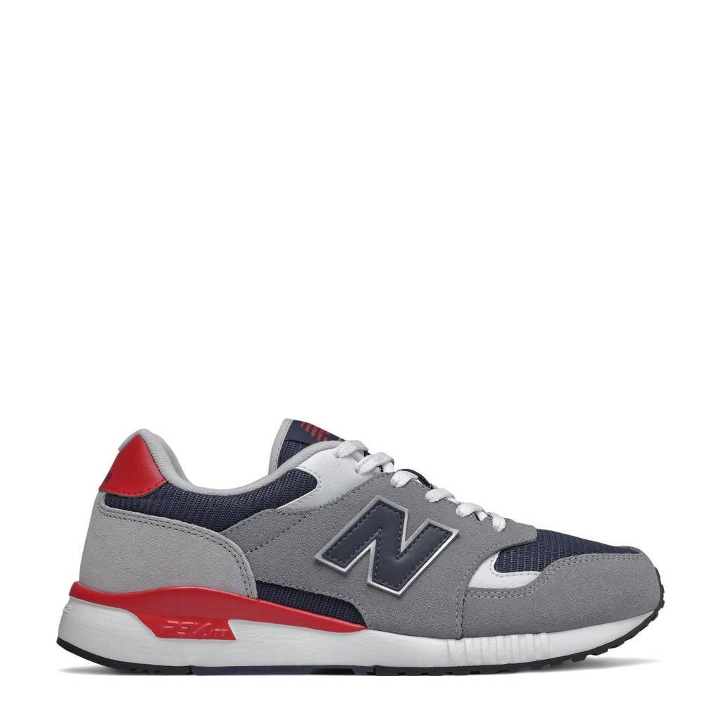 New Balance 570  sneakers grijs/rood, Grijs/rood