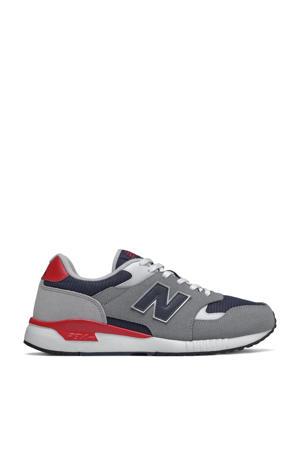 570  sneakers grijs/rood