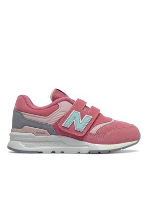 997  sneakers roze/lichtblauw