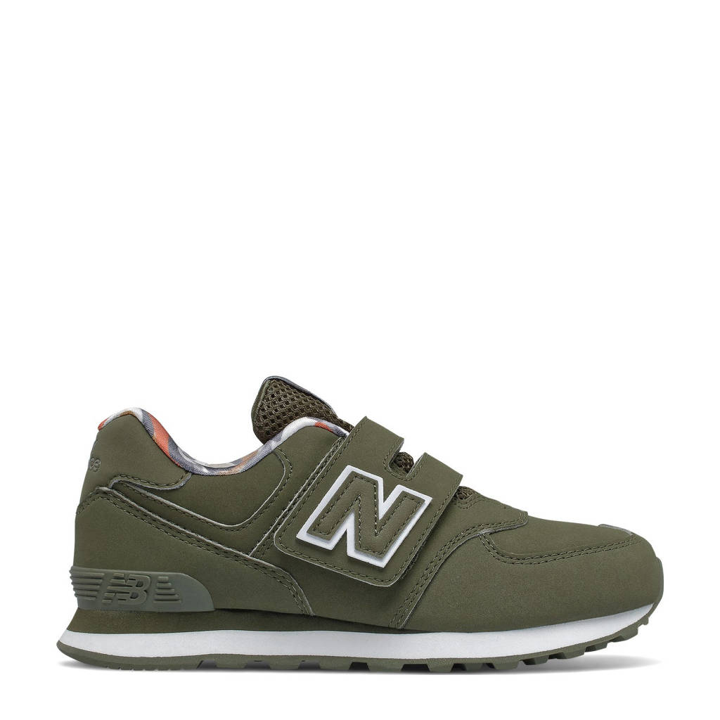 New Balance 574  sneakers kaki, Kaki