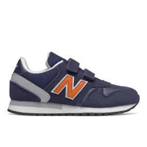 770  sneakers donkerblauw/oranje