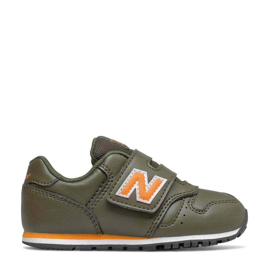 New Balance 373  sneakers kaki/oranje