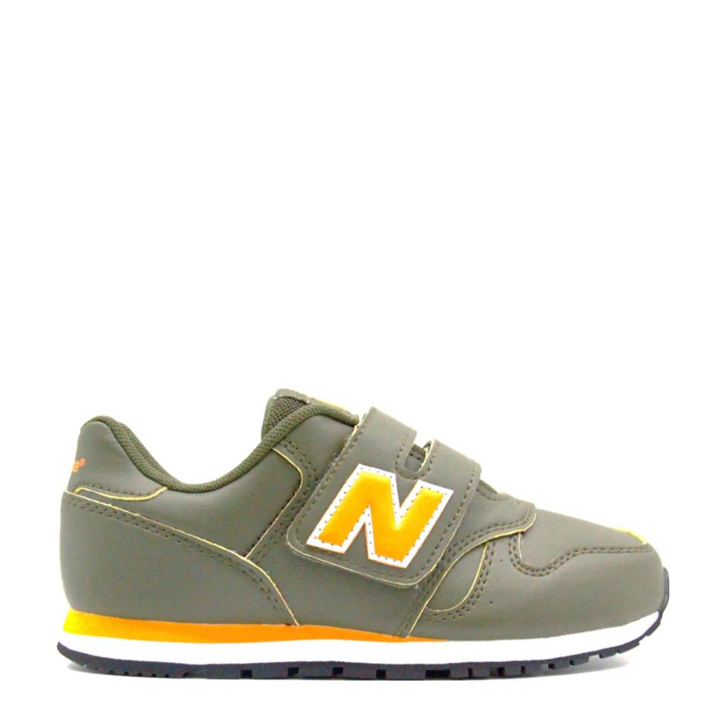 New Balance 373  sneakers donkergroen/geel, Donkergroen/geel